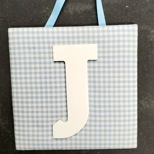 Wall letter for nursery